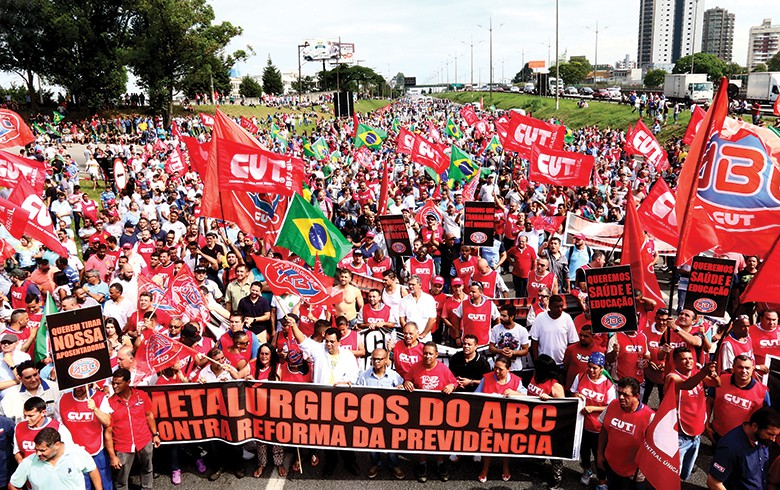 Vagner Freitas : 'Reforma da Previdência é pior do que confisco da poupança feito por Collor'