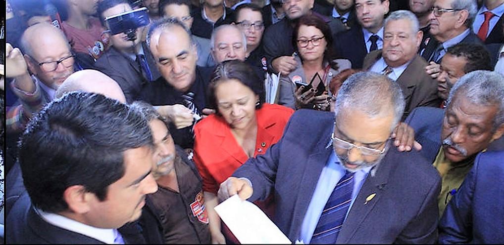 PAIM PROTOCOLOU NESSA TERÇA CPI DA PREVIDÊNCIA COM ASSINATURA DE 63 SENADORES