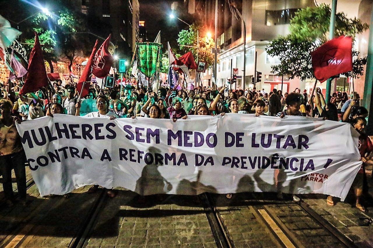QUARTA, DIA 15, VAMOS TOMAR O BRASIL CONTRA AS REFORMAS DA PREVIDÊNCIA E TRABALHISTA