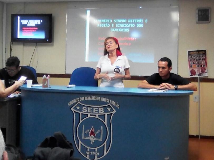 Seminário sobre reforma trabalhista em Niterói