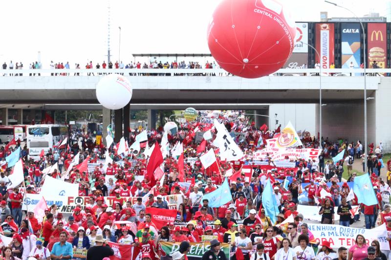 10 de novembro: Dia Nacional de Lutas e Mobilizações contra a reforma trabalhista