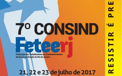 Texto Base de discussão do 7º Consind da Feteerj