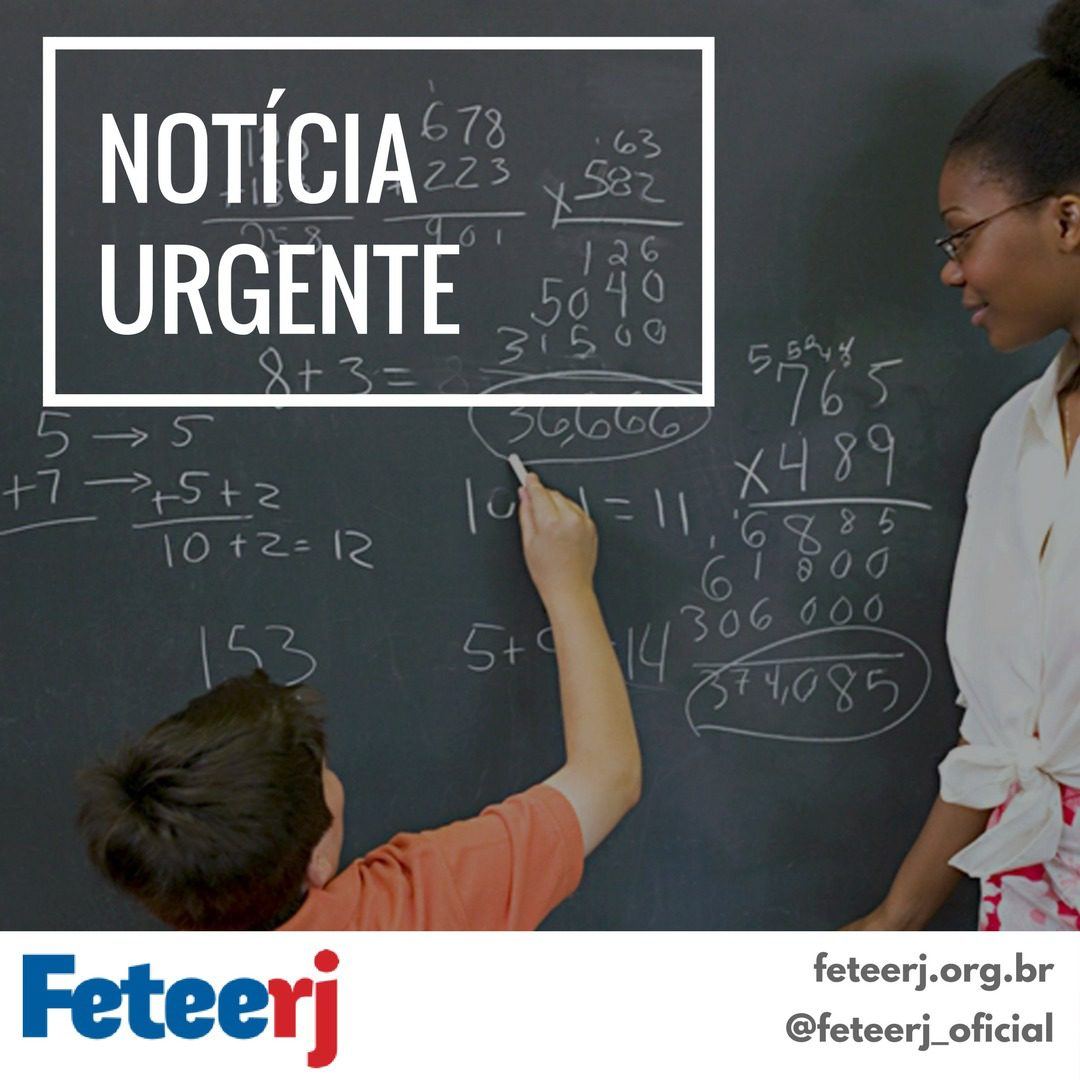 Todo apoio à professora Andrea Nunes Constâncio do CENIP Petrópolis