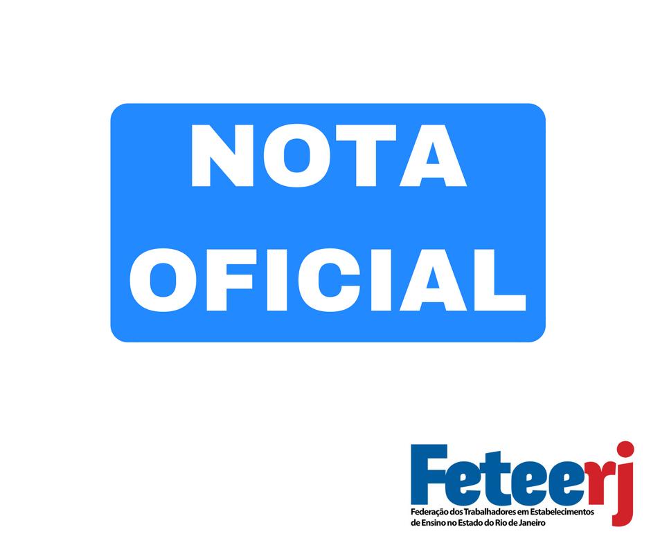 Nota da Feteerj sobre a negativa do STF ao pedido de habeas corpus de Lula