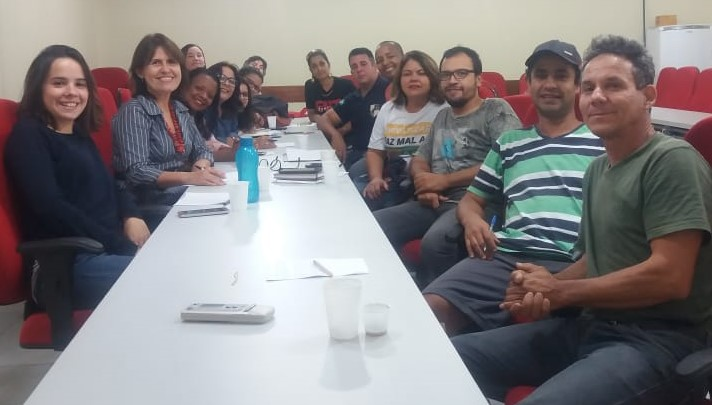 Sinpro Campos e São João da Barra participa de reunião de organização do Congresso do Povo