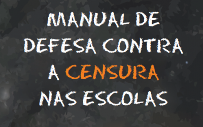 Manual mostra como prevenir e se defender da censura e assédio nas escolas