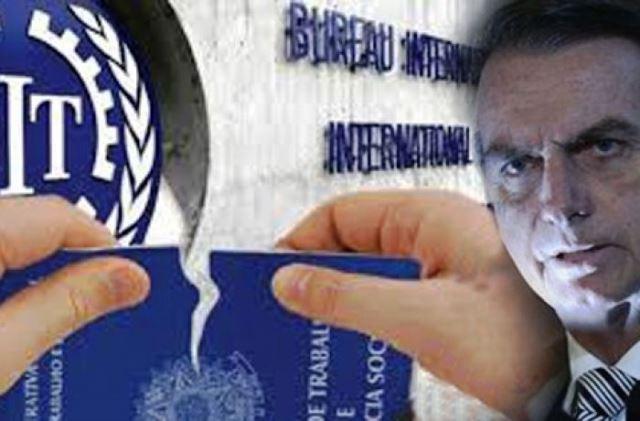 Centrais sindicais vão denunciar Bolsonaro na Organização Internacional do Trabalho (OIT)
