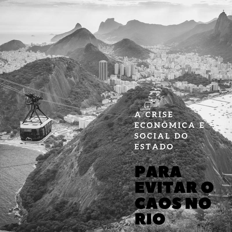 PARA EVITAR O CAOS NO RIO
